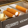 Application of carboxil - metil celulosa in tobacco industry